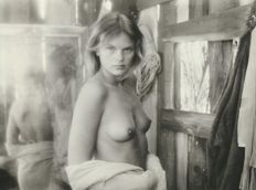 Photo; Lot with 4 photos by David Hamilton: Erste Sehnsucht - 1983