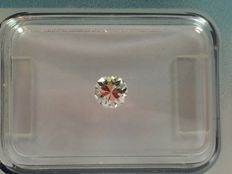 Brilliant cut diamond 0.28 ct F SI2 with IGI certificate