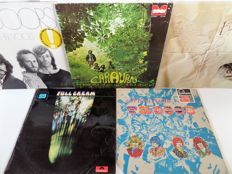 Lot of ten great pop and rock albums, incl. the Doors, the Troggs, Cream and many others
