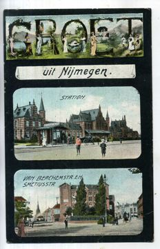 The Netherlands - Nijmegen, period 1898-1960, 75 x