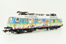 Märklin H0 - 37531 - Electric locomotive Series BR 120 of the DB, Christmas edition