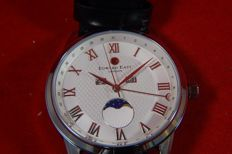 Edward East London Moon phase – men's wristwatch