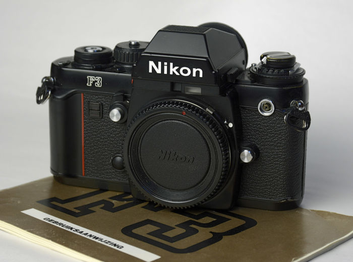 nikon f3 with viewfinder de2 catawiki