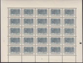Regardez The Netherlands 1952 - Stamp exhibition ITEP - NVPH 592/595 in complete sheets of 25.