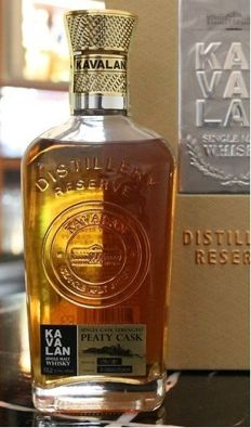 Kavalan Single Cask Strength, Peaty Cask, 30cl