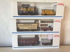 Märklin H0 -  Three Museum carriages from 1993 up to and including 1995