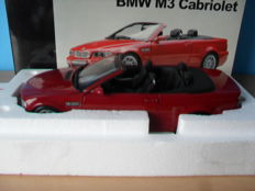 Kyosho - Schaal 1/18 - BMW E46 M3 Cabriolet - Rood