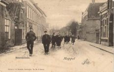 Meppel 55 x old to very old picture postcards