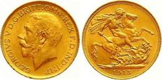 Great Britain – sovereign 1915 George V – gold