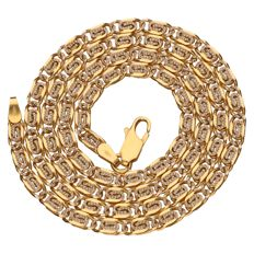 Necklace – 18 kt yellow gold – Length: 51 cm