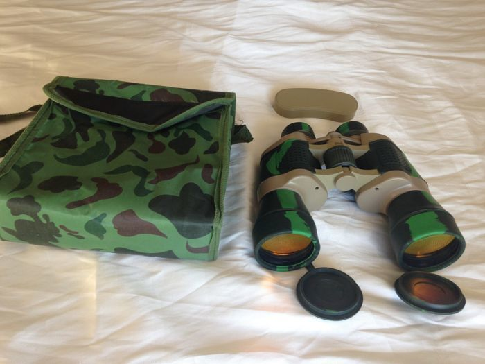 Night Vision and Daytime Vision Binoculars with Compass