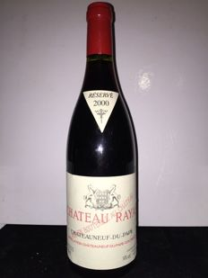 2000 Chateau Rayas Chateauneuf-du-Pape Reserve, Rhone - 1 bottle (75cl)