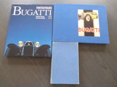Books; Lot 3 Bugatti Books - 1954/1995