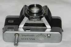 Very rare Vitessa camera original edition from 1953 without accessory shoe!
