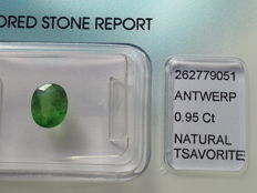 Tsavorite – Green – 0.95 ct