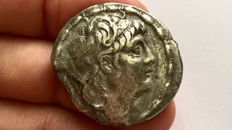 Greek Antiquity - Seleukid kings Antiochos VII (138-129 BC). AR Tetradrachm