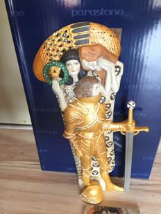 Sculpture after Gustav Klimt - The Knight - Mouseion collection