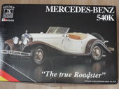 "Regardez Pocher-kit - Scale 1/18 - Mercedes-Benz 540K ""The True Roadster"""