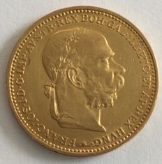 Austria - 20 crowns 1894 - gold
