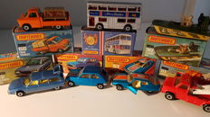 Lesney Matchbox - Misc. scales - Lot with 7 Models from the 70's