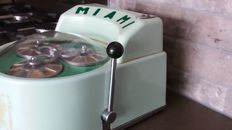 "Very rare antique France Trade stimulator ""Miami"" Poker 3 reel Gumball bandit 1950-1957 made in France"