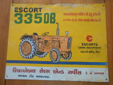 Tracteur Escort 335 DB - Painted sheet metal - Année 50