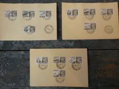 Belgium - Batch of FDC's, Maxicards, covers and special cancellations