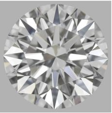 0.51 Carat Round Brilliant Diamond, D IF Cert: IGI #461