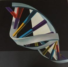 Edgarda Bertozzi - DNA Helix