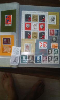 Serbia and Yugoslavia 1945/2000 - collection on stock pages
