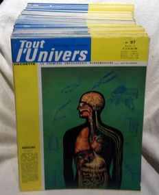 Hachette - Tout l'Univers - 97 issues - 1963/1965