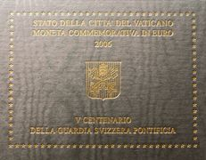 Vatican -- 2 Euro 2006 Pontifical Swiss Guard in Blister Packaging