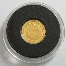 Nauru – 5 Dollars 2008 'The Brothers Grimm' – 0.5 g Gold