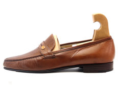 Moreschi - perforated leather loafers