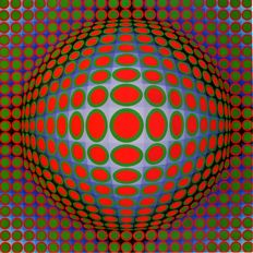 Victor Vasarely - Vega (two works)
