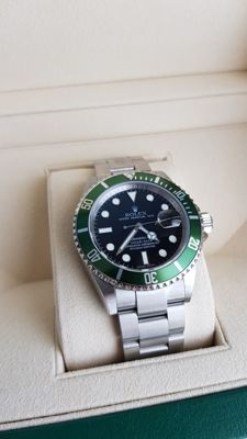 Rolex Oyster Perpetual Submariner Date Ref. 16610LV - Men's watch - Ca. 2005-2009