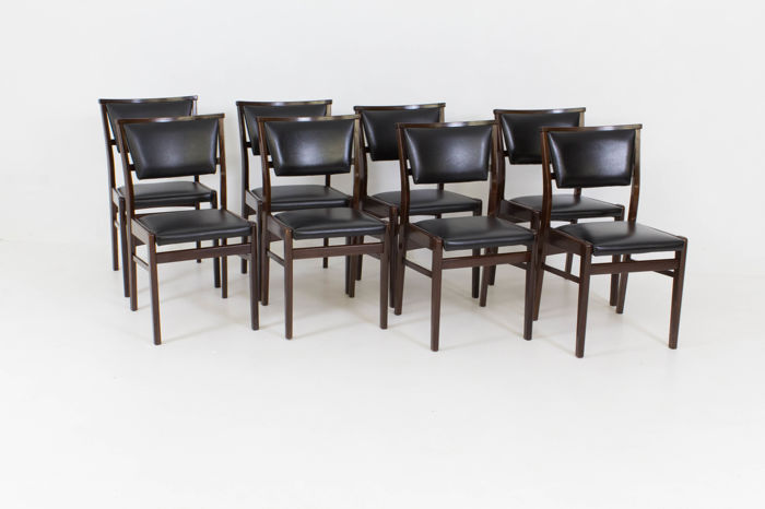Marvelous Designer Unknown Set Of 11 Vintage Mid Century Modern Chairs Catawiki Gmtry Best Dining Table And Chair Ideas Images Gmtryco