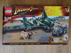 Indiana Jones - 7683 - Fight on the Flying Wing