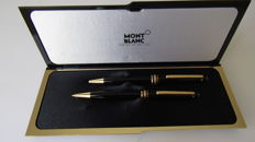 Montblanc Maesterstuck Classic set of ballpoint pen and propelling pencil.