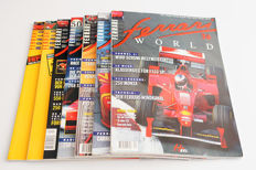 Lot of 7 Ferrari World Magazines