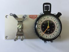 Race accessories - HEUER stopwatch circa 1970