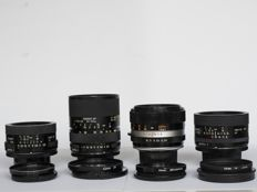 4 Tamron lenses with an M42 mounting