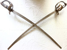 Set duelling swords, ca. 1870