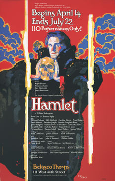 Doug Johson - HAMLET Broadway Play - 1995
