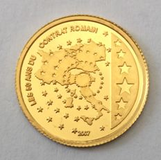 Congo - 1500 Francs 2007 'Contrat Romain' - 1/25 oz gold