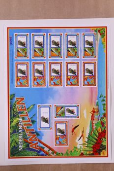 Netherlands Antilles 2005 – Personalised stamps, 12 complete sheets – NVPH 1534/1535