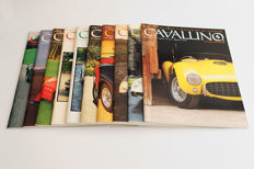 Lot of 10 Cavallino Magazines