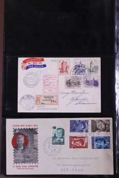 The Netherlands 1951/1975 - As good as complete collection FDCs