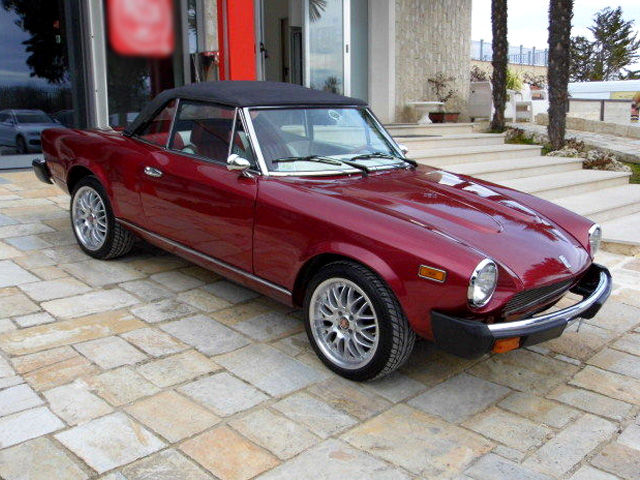 fiat 124 spider america 1979 catawiki. Black Bedroom Furniture Sets. Home Design Ideas