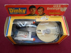 U.S.S Enterprise from Star Trek series TV - Dinky die cast toys 358 - Made in England by Meccano - 1977.